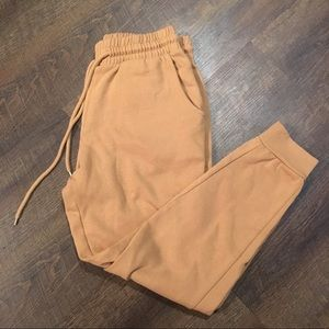Forever 21 Tan Joggers